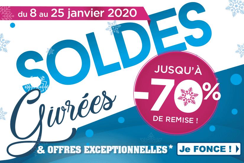 Les Soldes d'hiver et offres exceptionnelles du 8 au 25 janvier 2020 chez Narbonne Accessoires