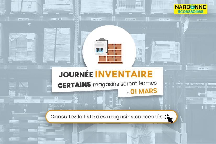 Inventaire 1 Mars