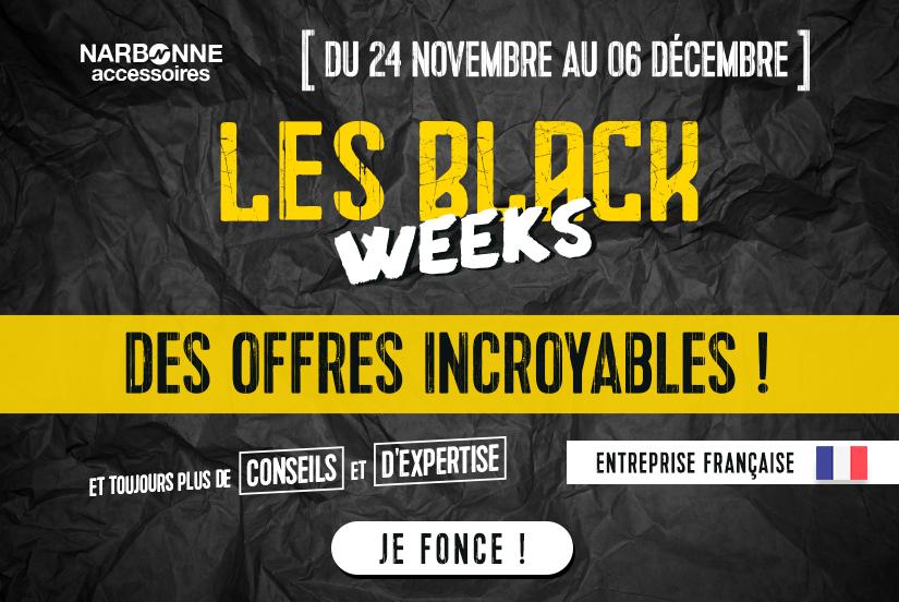 Black Week offres jusqu'à 70%