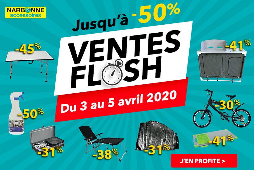 Ventes flash 03 au 05 Avril