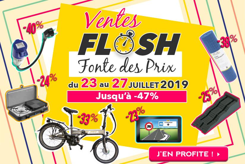 Ventes Flash - Fonte des prix