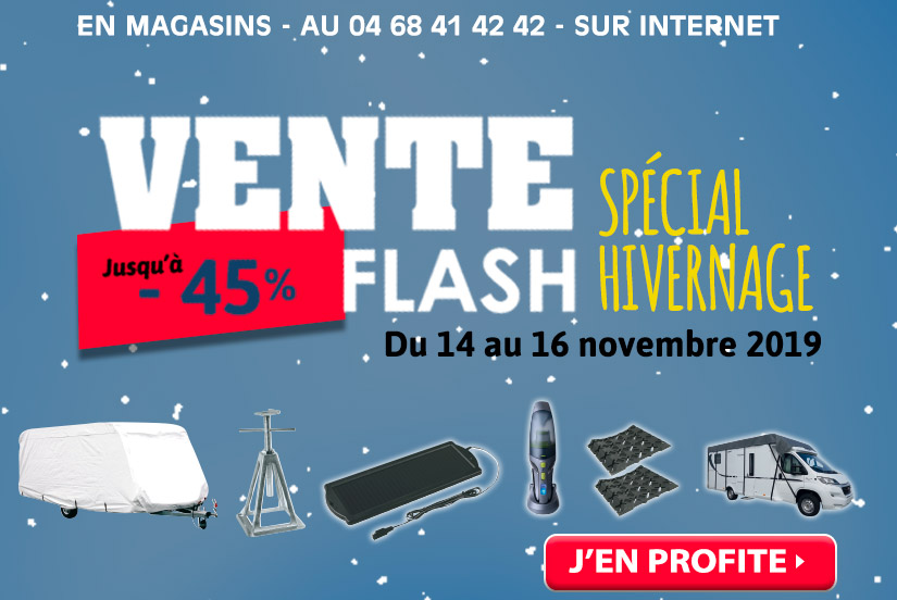 Ventes Flash hivernage