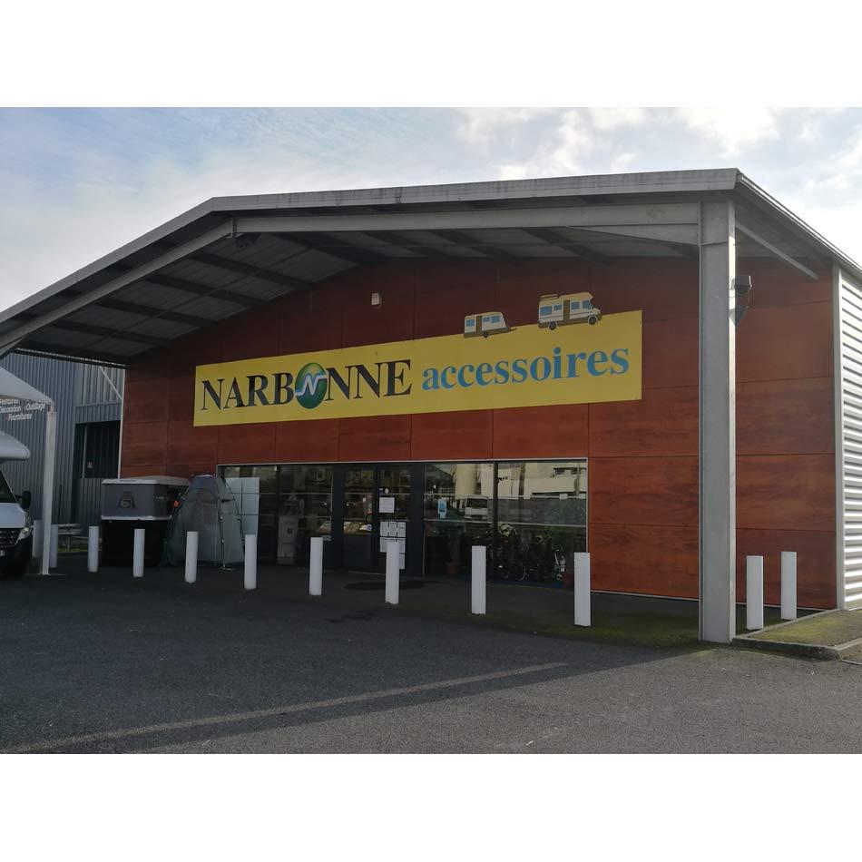 La façade de l'enseigne Narbonne Accessoires à ZI DE LONS INDUSPAL,9, AVENUE FREDERIC ET IRENE JOLIOT CURIE