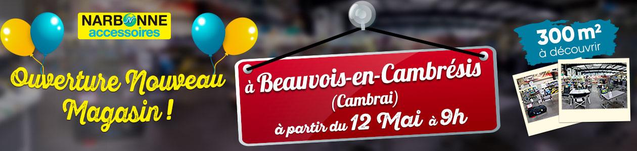 ouverture magasin de Cambrai à partir du 12 mai 2020