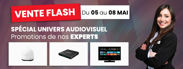 Du 05 au 08 Mai, Spécial Audiovisuel !